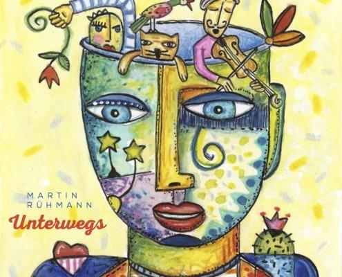 """CD Cover für Martin Rühman """" Unterwegs"""""""